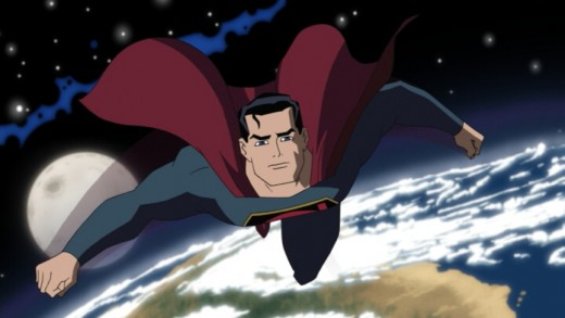 """Superman in """"Justice League: The New Frontier"""""""