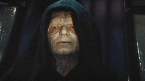 """I'm looking forward to completing your training. In time you will call me master…it is unavoidable. It is your destiny. You, like your father, are now mine."" – Darth Sidious (Emperor Palpatine) to Luke in Return of the Jedi"