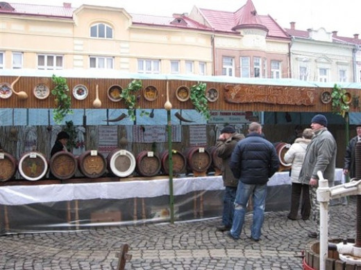 Wine Festival in Mukachevo