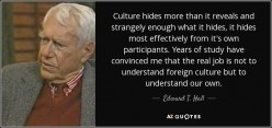 Business in high context cultures.