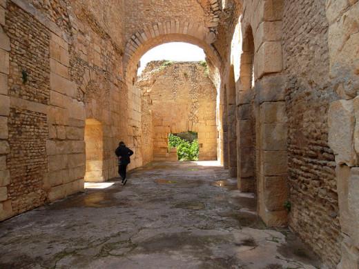 Baths in Bulla Regia