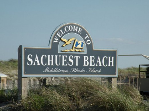 Popular Beach in Middletown, RI