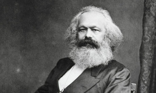 Did Karl Marx allude to what is known as - 'creative destruction' of capitalism.