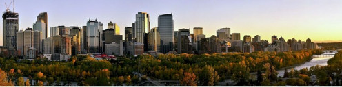 Calgary by day.