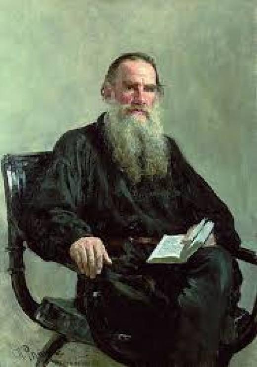 The great Leo Tolstoy.