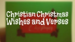Christian Christmas Messages and Verses