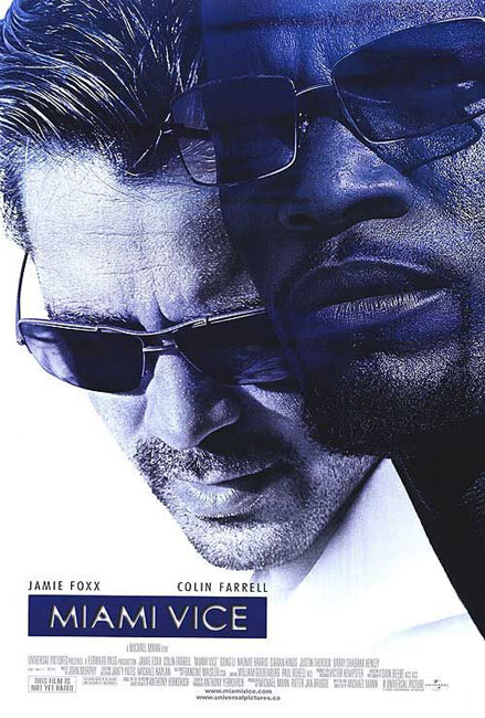 "Poster for ""Miami Vice"""