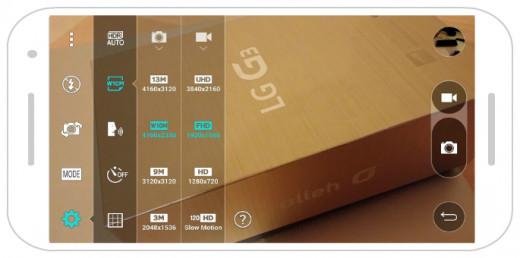 LG Native Camera App