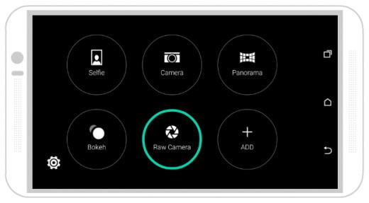 HTC Native Camera App