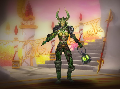 A screenshot of Nichts, Holy Paladin, horde, Bloodelf.