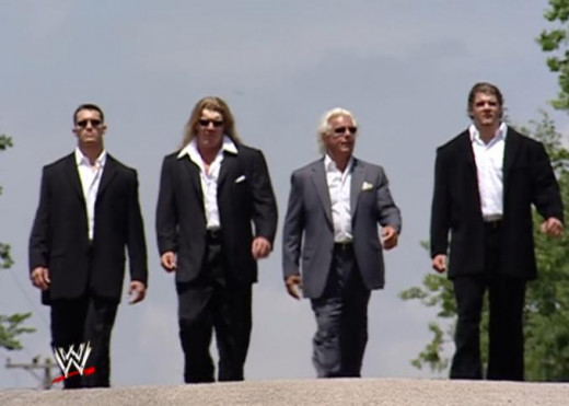 Jindrak, on the far right, almost was the final member of Evolution