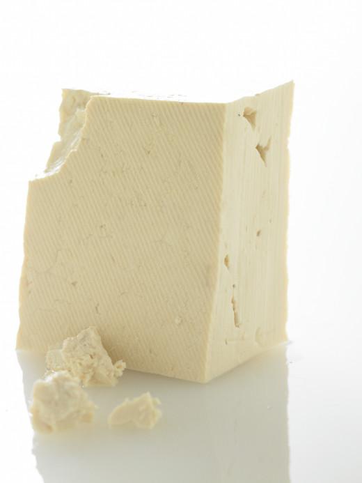 Tofu (soy bean curd).