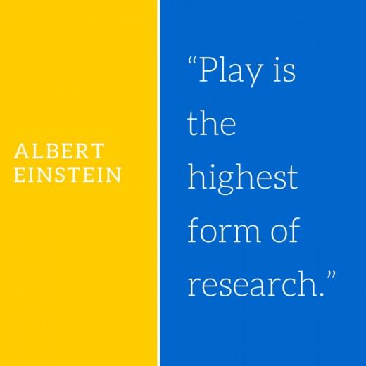 Albert Einstein, research