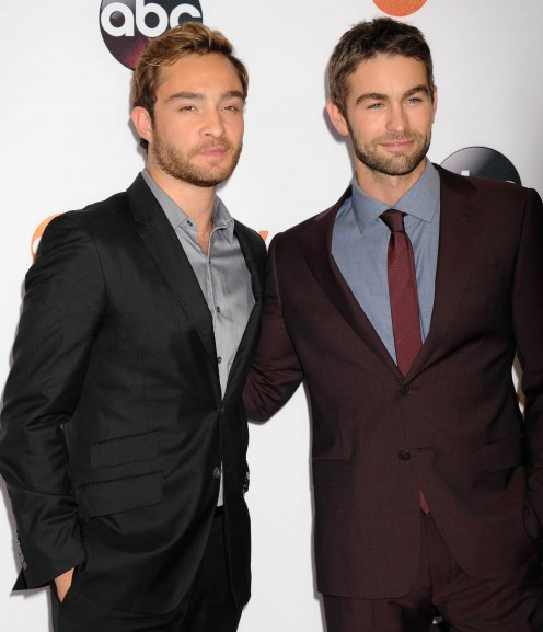 Ed and Chace at an ABC event in 2015.