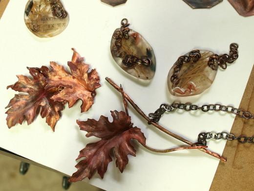 Maple leaf jewelries
