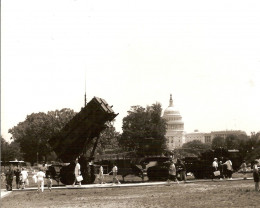 A Patriot missile system on the Washington, DC Mall, May 1992.
