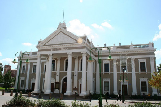 City Hall, Kimberley, Northern Cape, South Africa