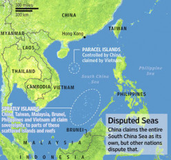 Tumultuous Waters of the South China Sea