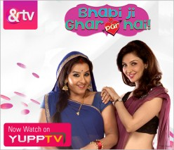 "Amazing Hindi Comedy Show ""Bhabhiji Ghar Par Hai"" on &TV"