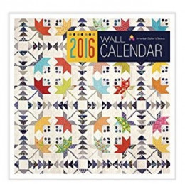 List of Beautiful Quilt Calendars for 2016