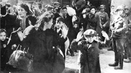 Round Up of Jews in the Ghetto.