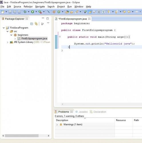 Type-above-program