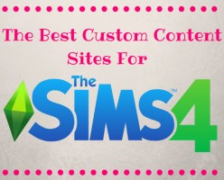 The Best Free Custom Content Sites For The Sims 4!