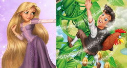 Mashup Tale: Jack, Rapunzel, and the Magic Beans