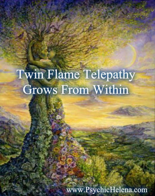 Twin Flames & Soulmates are constantly manifesting through telepathy.