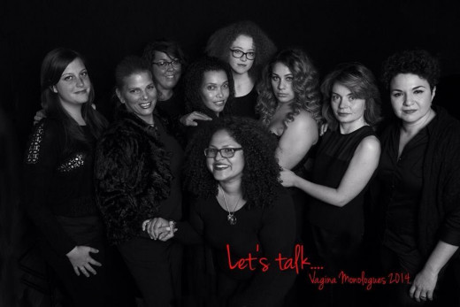 Vagina Monologues cast 2014