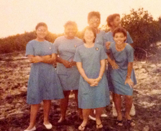 Girls Brigade camp, circa 1985