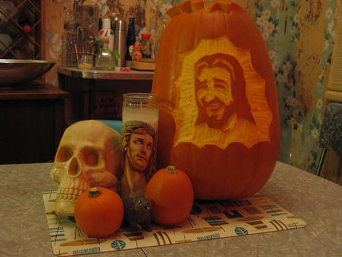 """Halloween Jesus"" (2 Corinthians 11:4)"