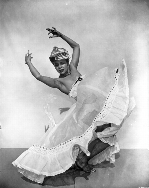Katherine Dunham was not only dancer but an anthropologist as well. She did her field work in the Caribbean islands of Haiti  and Jamaica.  During her time in those islands, Dunham back to move she observed to the United States.