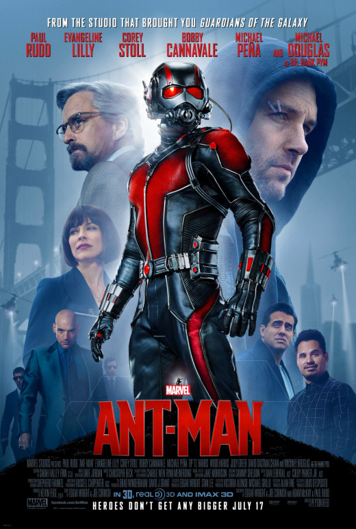 """Poster for """"Ant-Man"""""""