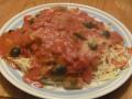 Spaghetti Al Pomodoro With Chicken