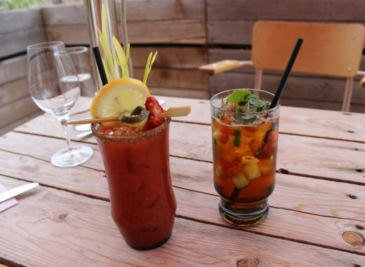 Cocktails at Manitoba