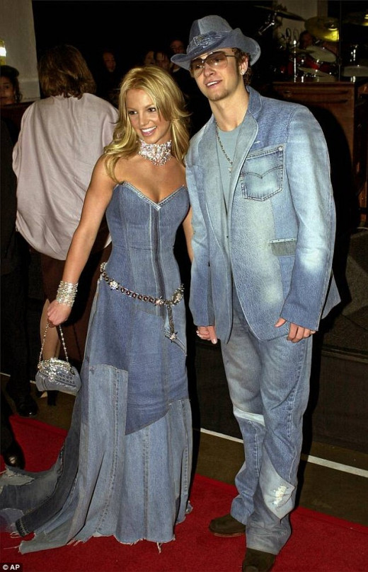 The Infamous Quadruple Denim  outfit