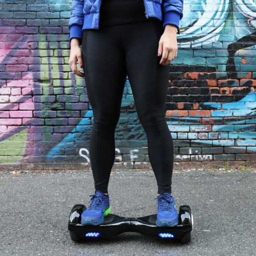 Galaxyboard in action, might not look fast but it is the fastest self-balancing board available!