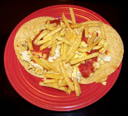 Badazz Breakfast Tacos by Lela