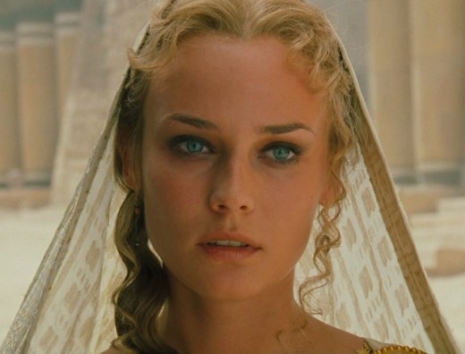 Helen of Troy as portrayed by Diane Kruger