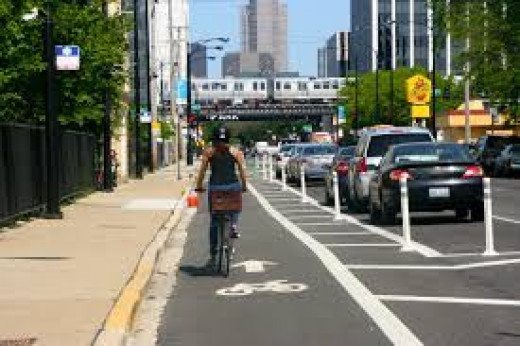 New bike lanes in Washington, D.C. are taking parking spaces from historic churches, prompting complaints by pastors.