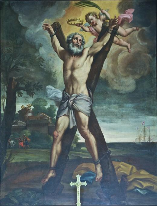 St Andrew Crucifixion