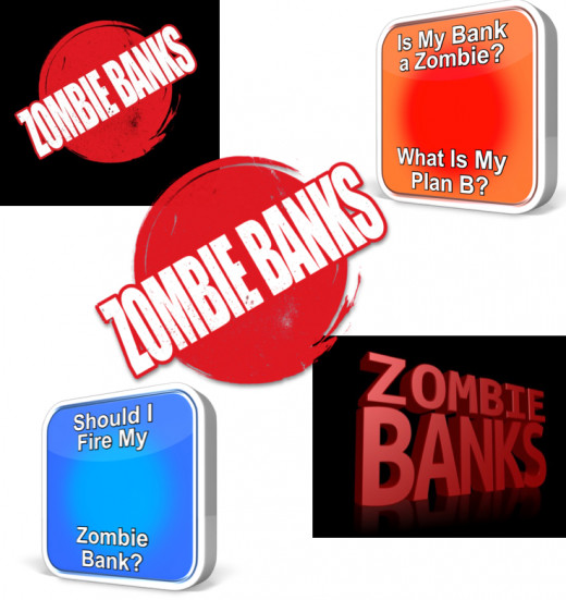 A Long List of Zombie Bank Questions and Problems