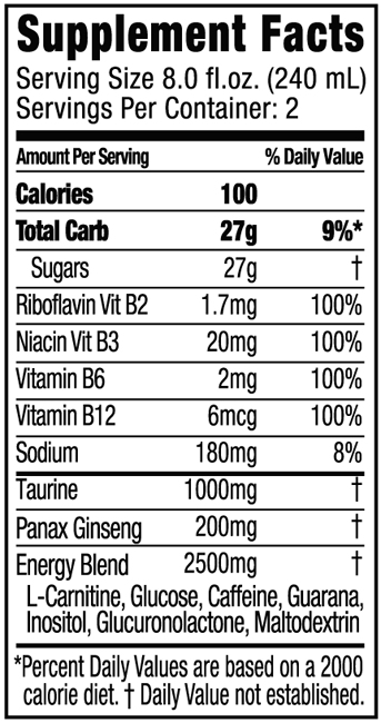 The nutritional fact label will help you make a  healthy choice