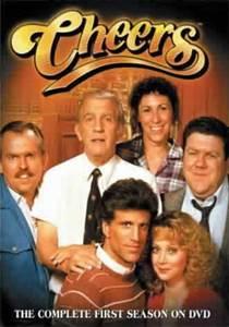 Cheers--one of my favorite 1980's comedies