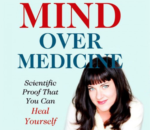 Picture of Dr. Rankin on one of her books.