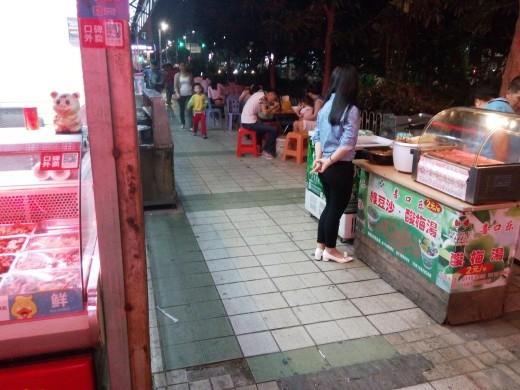 Evening Street Scene