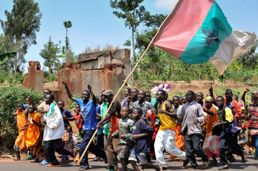 Burundians in wild jubilation over war victory