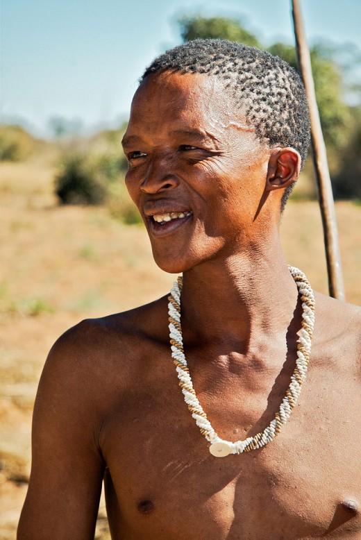 San Bushman from Botswana
