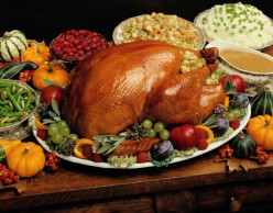 Is it close enough yet to start tasting that butterball turkey and pumpkin pie?